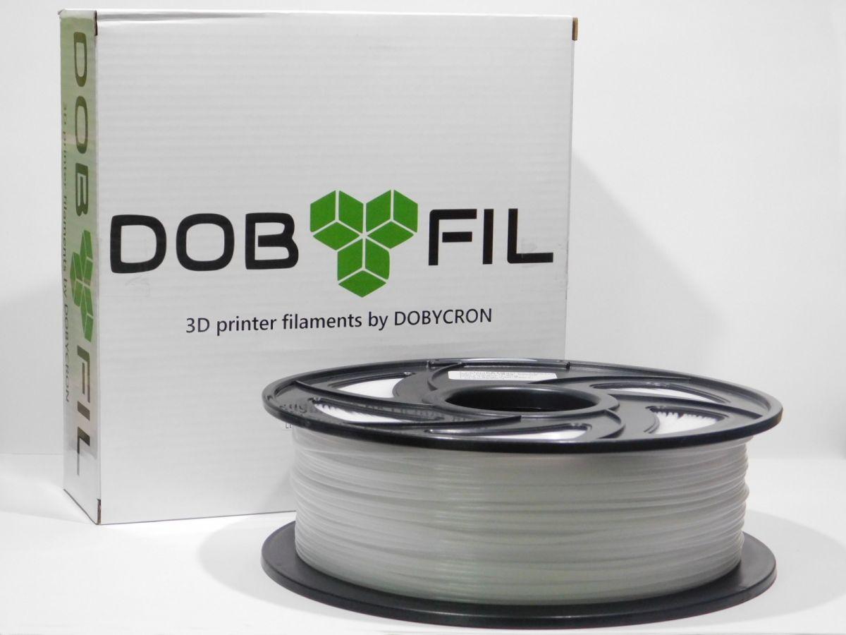 DOBYFIL filament, PETG, 1,75mm, 1kg, bílá