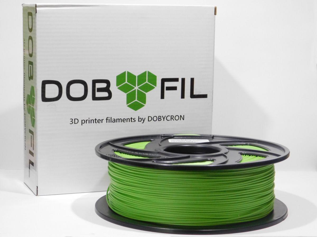 DOBYFIL filament, PLA+, 1,75mm, 1kg, zelená
