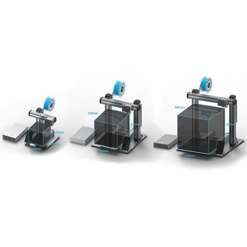 3D tiskárna 3v1 Snapmaker A350
